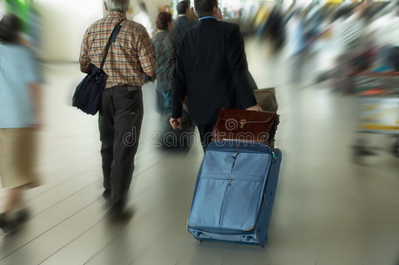 Travel. Concept, photo taken at airport (blurry stock images