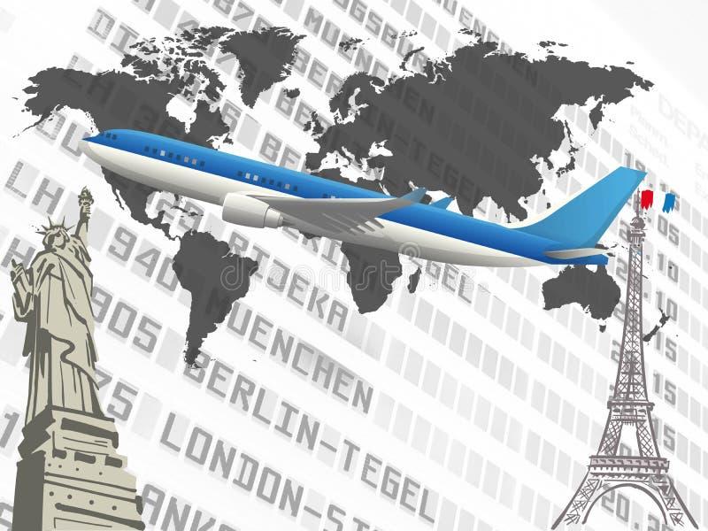 Download Travel stock illustration. Image of paris, europe, globe - 5237587