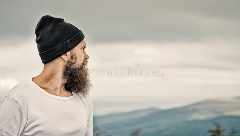 Travel and adventure, freedom. royalty free stock photo