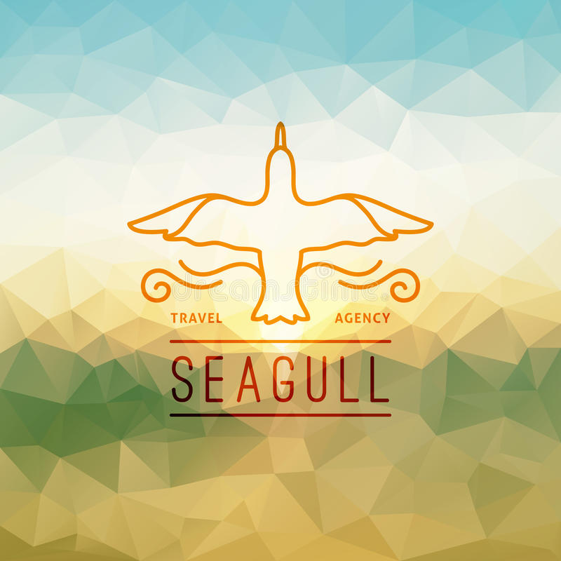 Download Travel Agency Logo Stock Vector Illustration Of