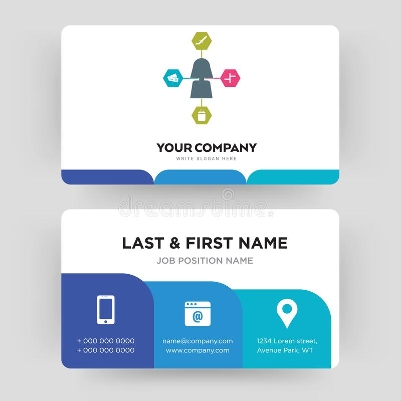Travel Agent Business Card Design Template, Visiting For Your ...