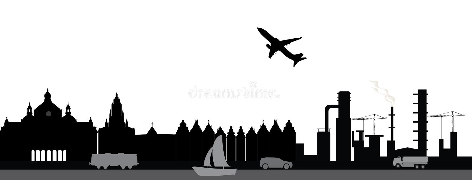 Download Travel antwerp stock vector. Illustration of antwerpen - 28237155