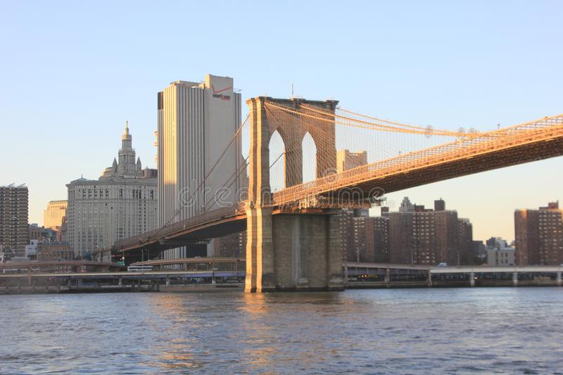 New york monuments and architecture. Travel around new yourk and the most important monuments royalty free stock photos