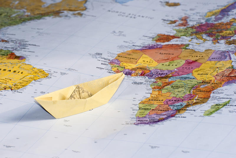 Travel Around The World Royalty Free Stock Photography