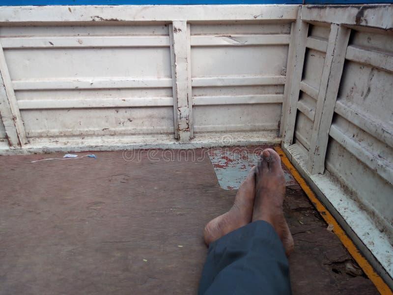 Travel in auto Tamil Nadu stock photo