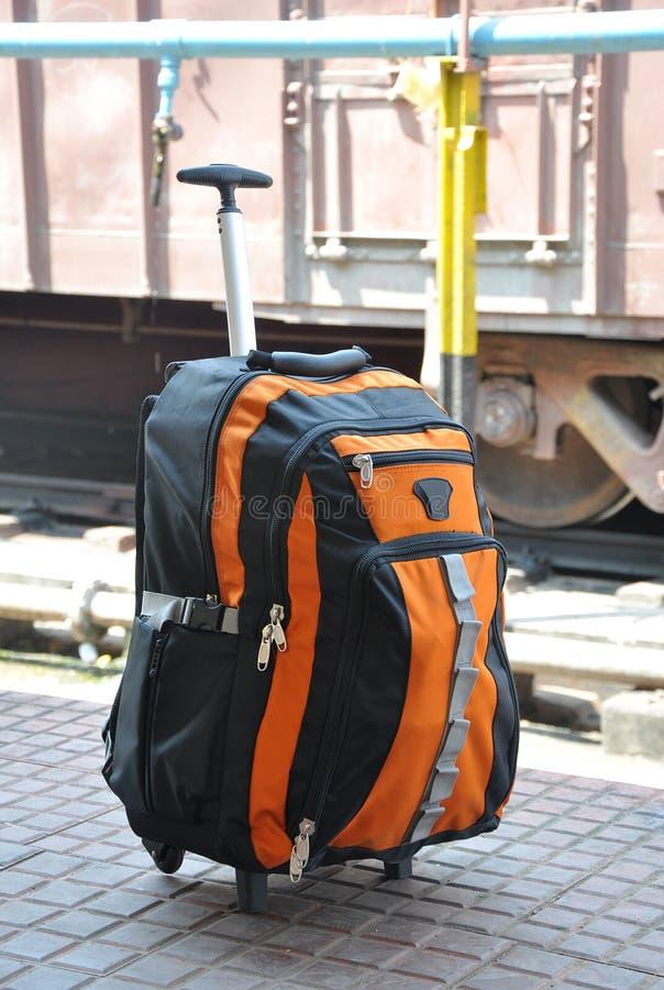 Download Travel bag stock photo. Image of rail, railway, line - 13258466