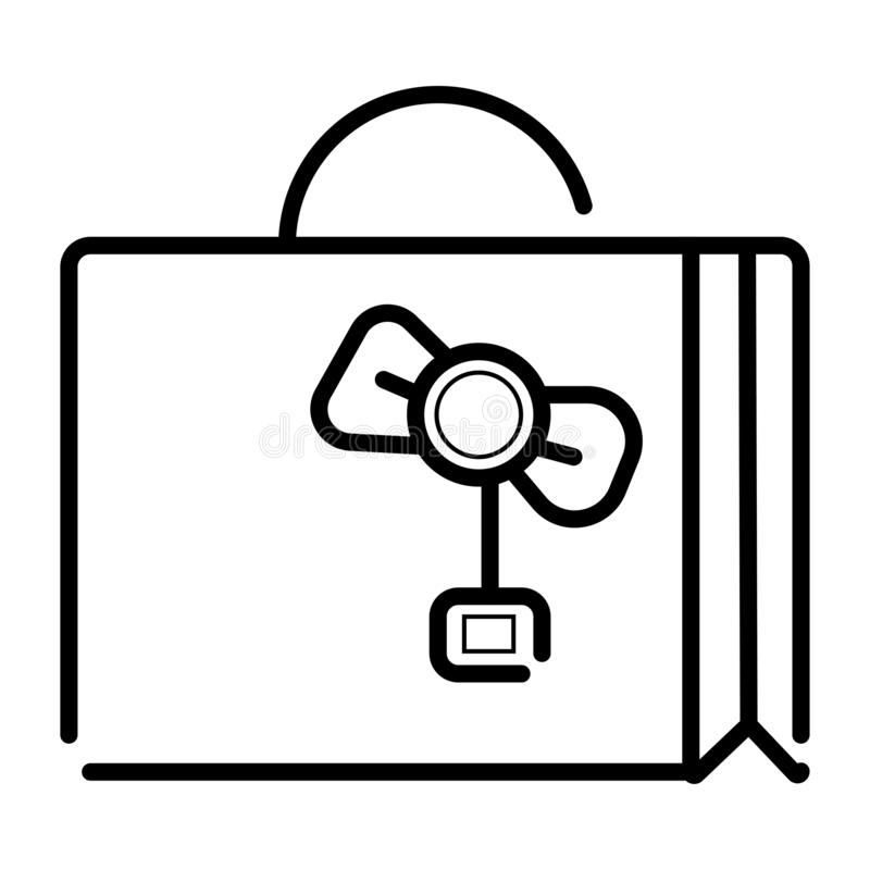Travel bag icon vector illustration