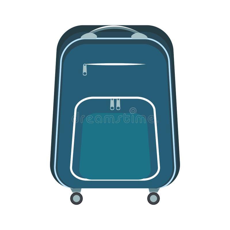 Travel bag icon stock illustration