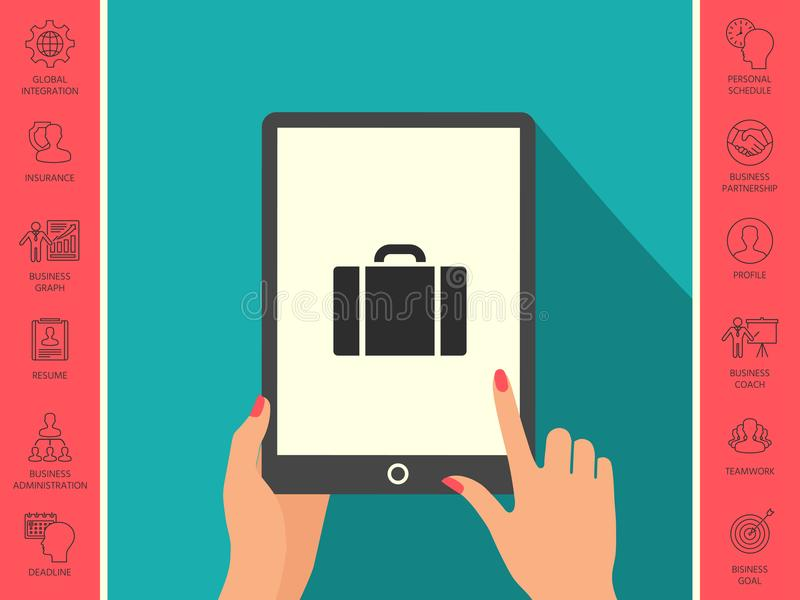 Travel bag icon vector illustration