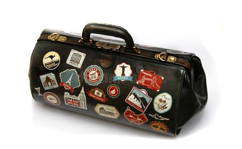Travel bag royalty free stock image