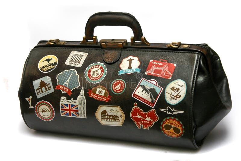 Travel bag 2 stock photos