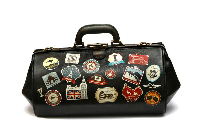 Travel bag 2 stock images