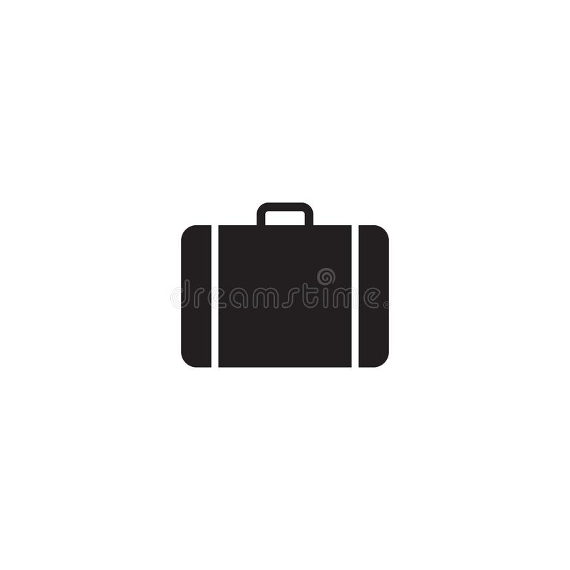 Travel, baggage, tourism, luggage, airport icon. Travel, baggage, tourism luggage airport vector icon vector illustration
