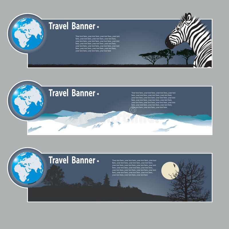 Download Travel Banners Stock Images - Image: 25893324