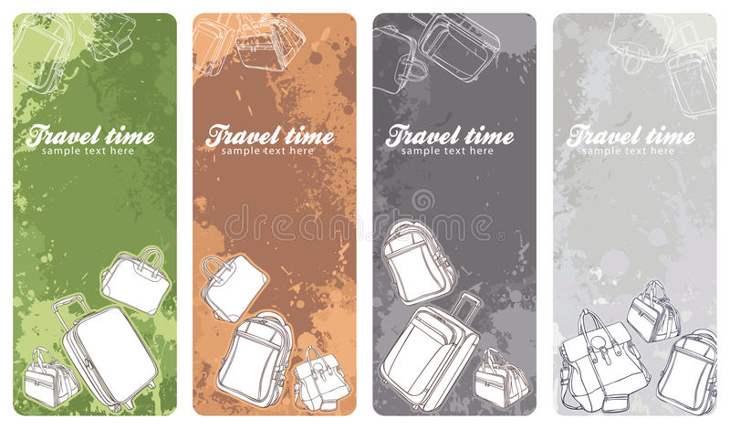 Download Travel Banners Set Stock Photography - Image: 25584662