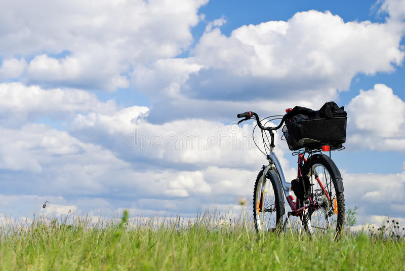 Travel On A Bicycle Stock Photos