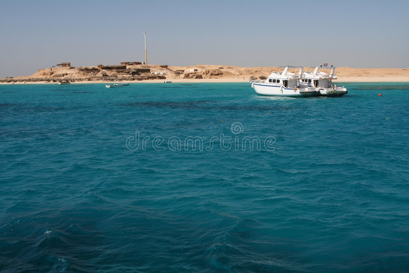 Travel boats royalty free stock image