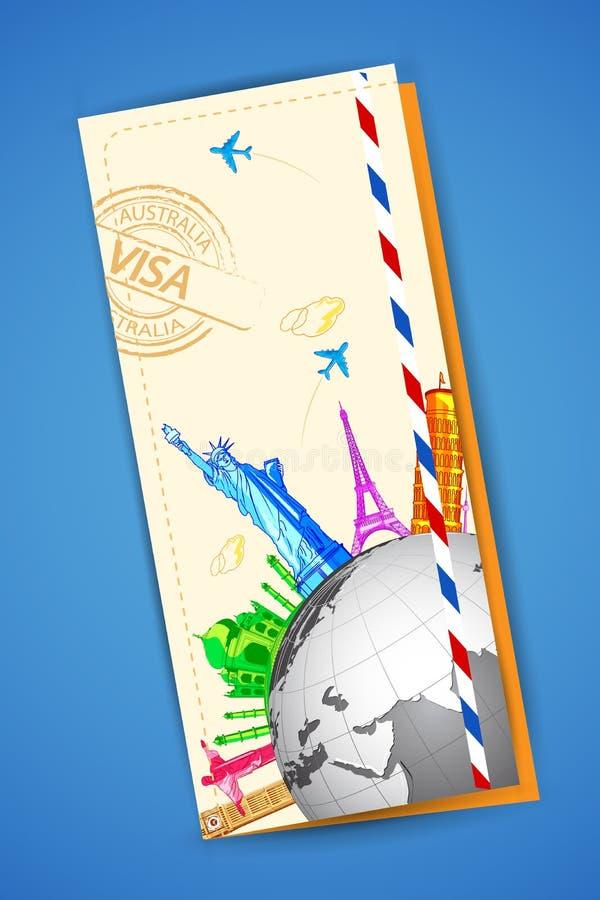 Travel Brochure royalty free illustration