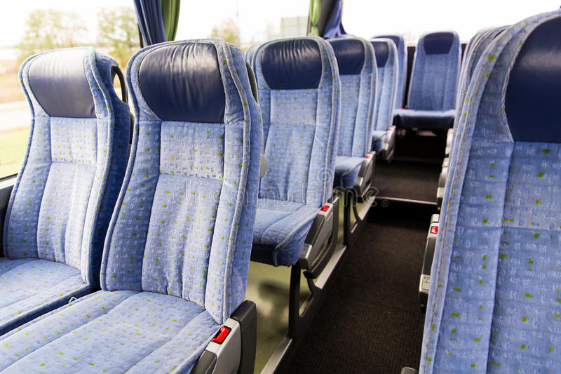 Travel Bus Interior And Seats Stock Photo Image Of Auto Seat 67959816
