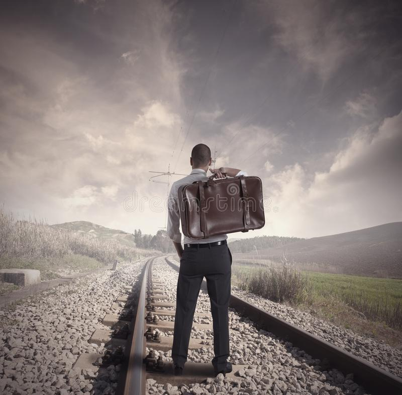 Travel for business royalty free stock images