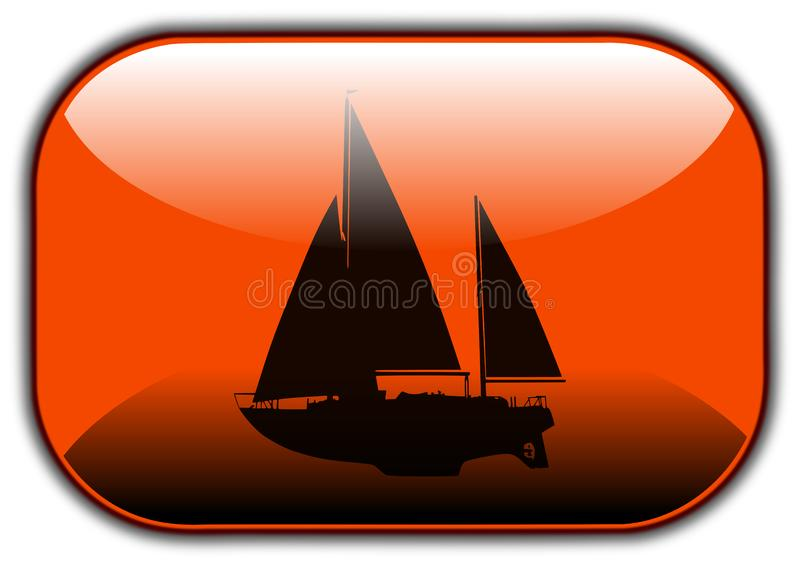 Download Travel button stock illustration. Illustration of silhouette - 14173719