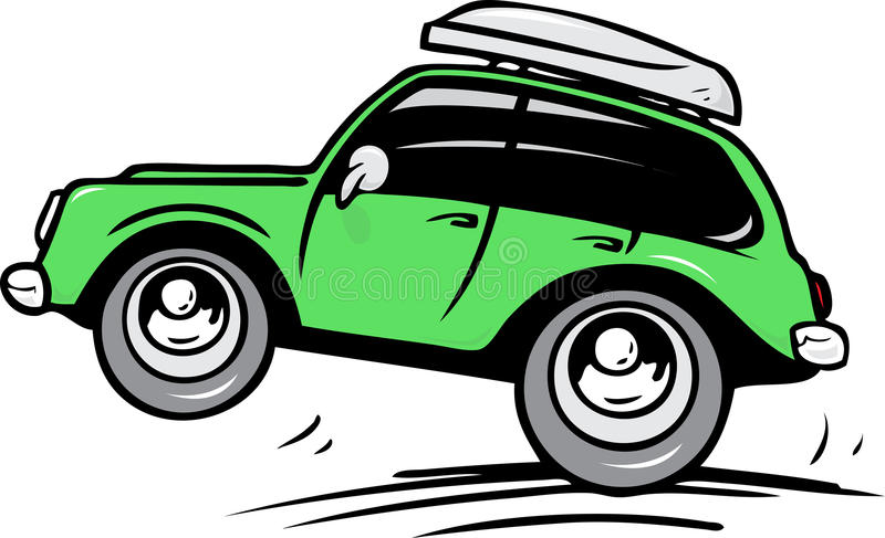 Download Travel car stock vector. Image of bumper, baggage, journey - 28522775