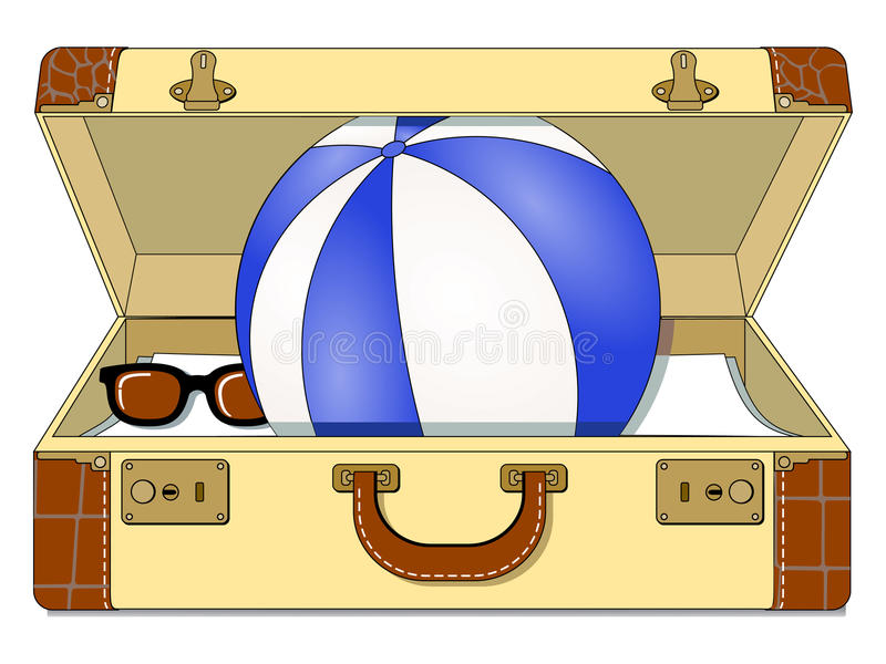 Download Travel Cas stock vector. Illustration of sunglasses, destination - 20153755