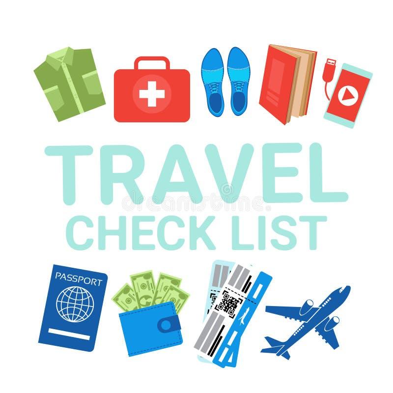 travel items list