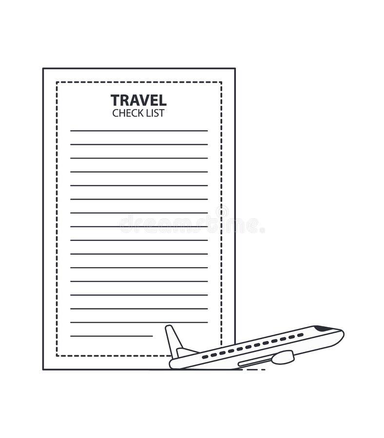 Travel Checklist Stock Illustrations 1 123 Travel Checklist Stock Illustrations Vectors Clipart Dreamstime