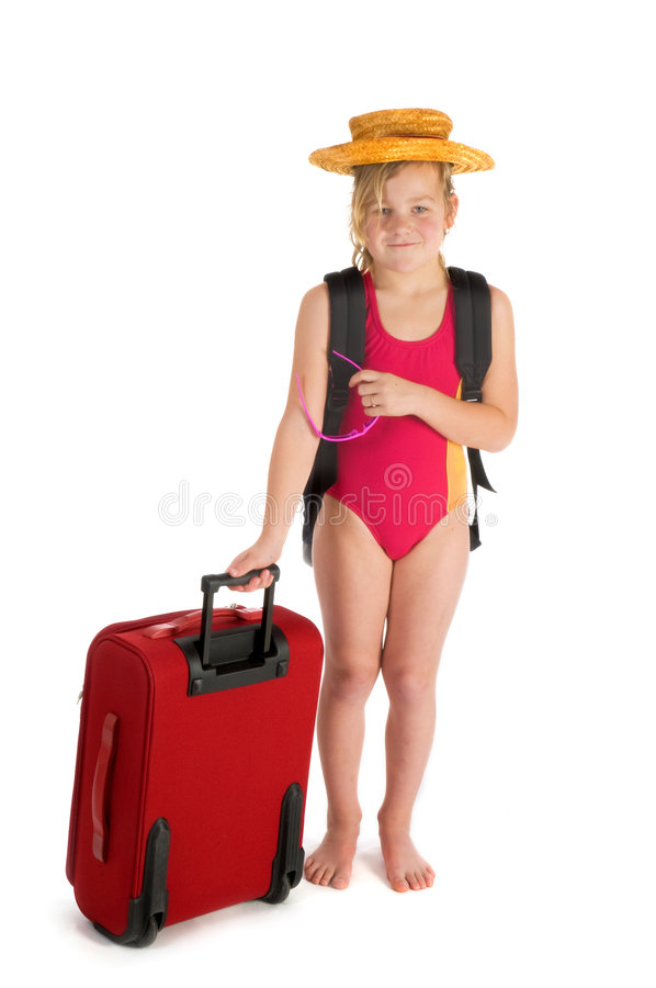 Download Travel by a child stock photo. Image of isolated, packed - 8338854