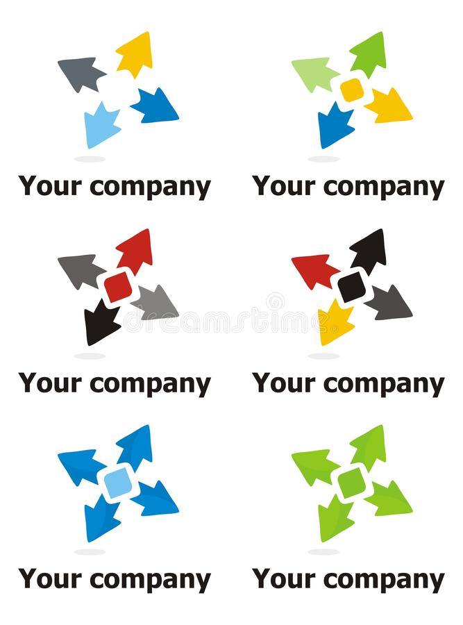 Download Company logo design stock vector. Image of mark, world - 17212901