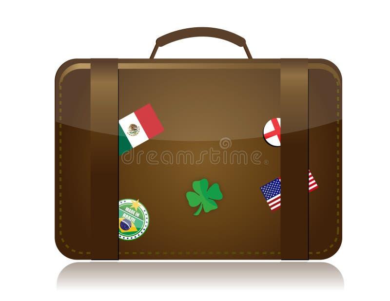 Download Travel concept stock illustration. Image of france, flag - 18603102