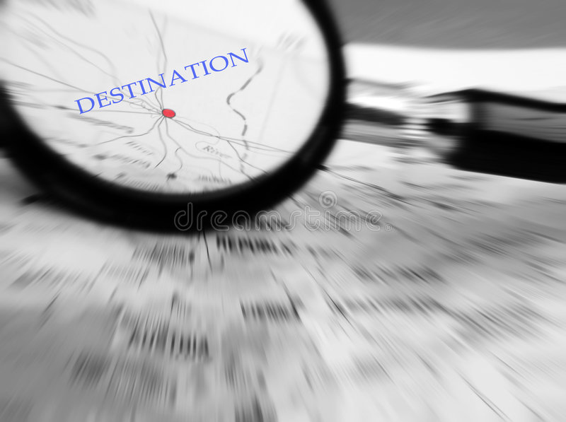 Download Travel Concept With Destination In Focus Stock Photo - Image: 8806400
