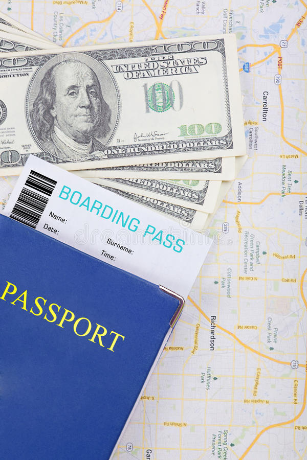 Download The travel concept. stock photo. Image of flight, dollars - 43495750