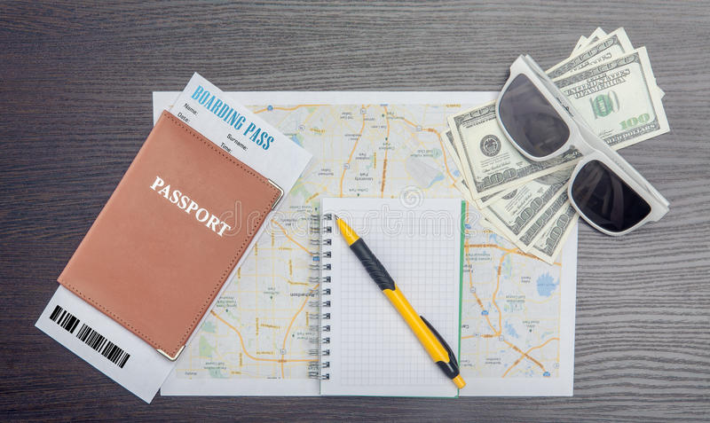 Download The travel concept. stock photo. Image of dashboard, booking - 43495766