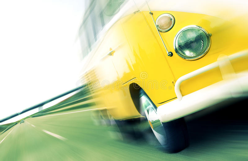 Travel By Van Royalty Free Stock Photography