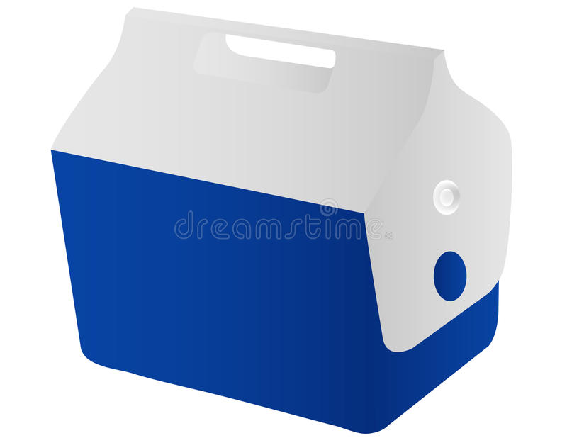 Download A Travel Cooler stock vector. Image of drink, outdoors - 23143495