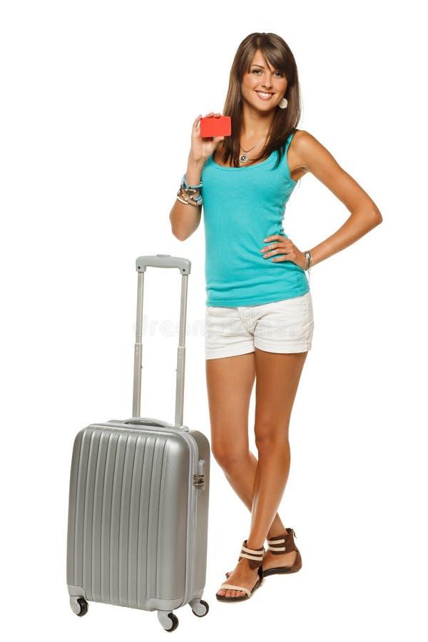 Travel Credit Card Royalty Free Stock Photos