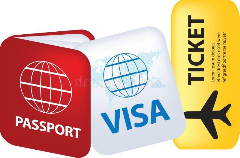 Download Travel documents stock vector. Illustration of illustration - 12820444