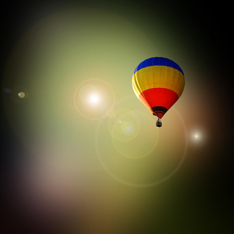 Download Travel for dream stock photo. Image of free, balloon - 24658320