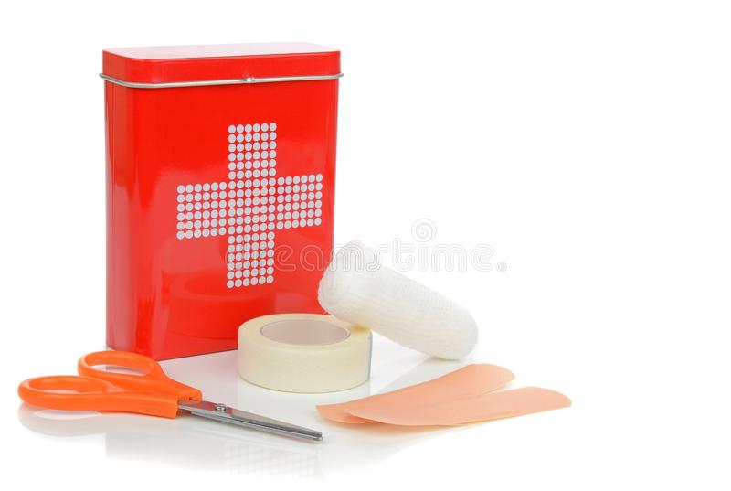 Download A Travel First Aid Kit stock image. Image of tape, object - 30290569