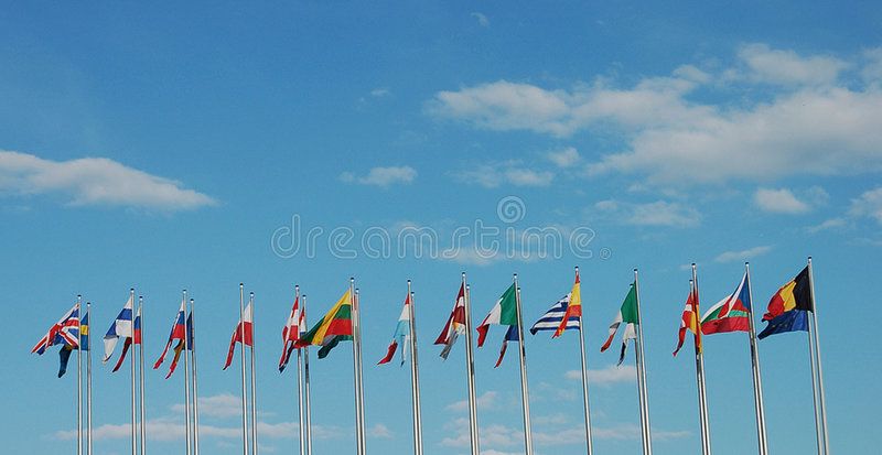 Download Travel flags stock photo. Image of design, countries, collective - 5793868
