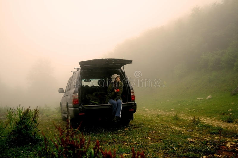 Download Travel halt stock photo. Image of watching, shelter, feeling - 38683942