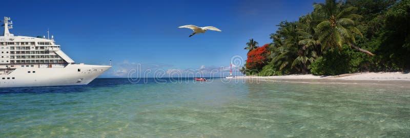 Travel header royalty free stock image