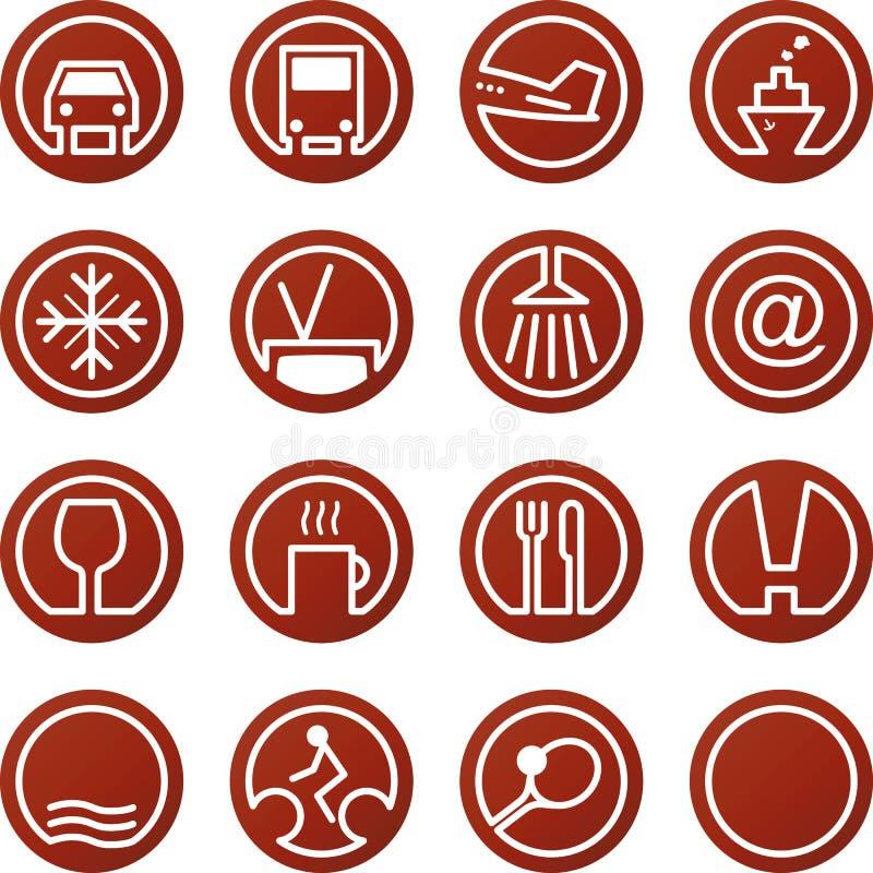 Travel & Hotel icons