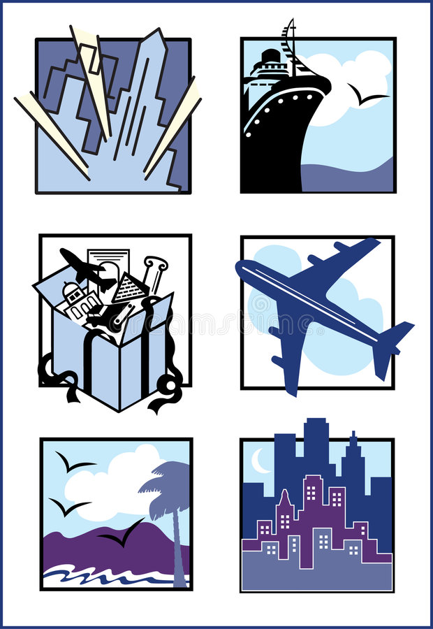 Download Travel Icons stock vector. Illustration of excursion, explore - 2373463