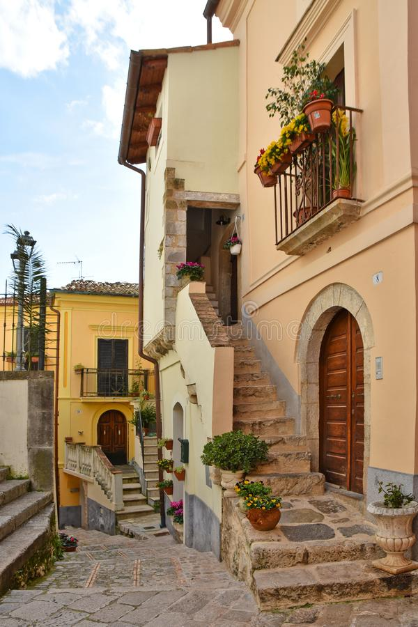 Free Travel In Old Italian Villages Stock Photography - 160624352