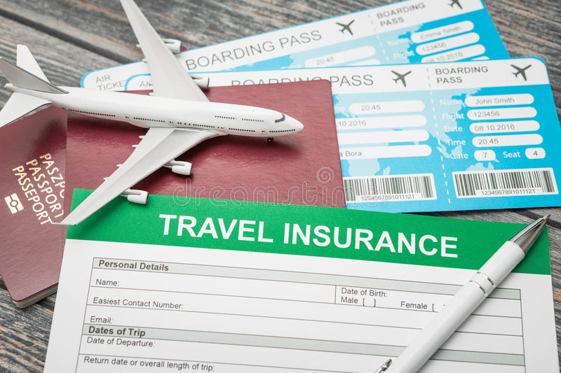 Travel insurance safe background stock photo image of legal travel agent ticket safe plan trip holiday model insurance money concept air form business security paper transportation concept stock image thecheapjerseys Choice Image