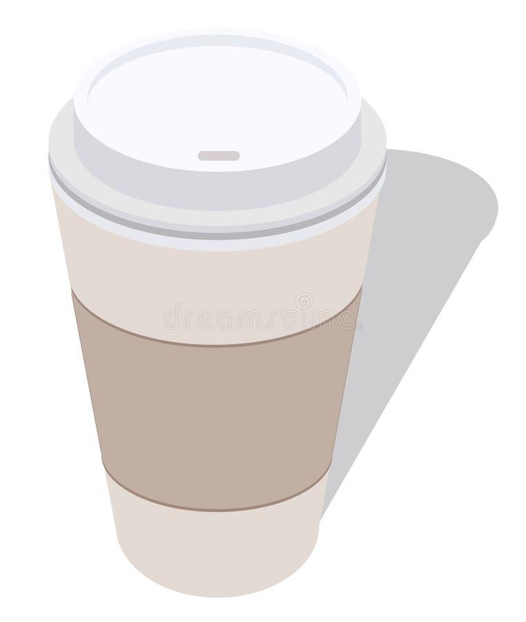 Travel java cup royalty free illustration