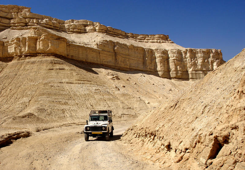 Travel on a jeep royalty free stock image